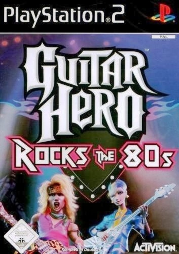 Cover zu Guitar Hero: Rocks The 80s!