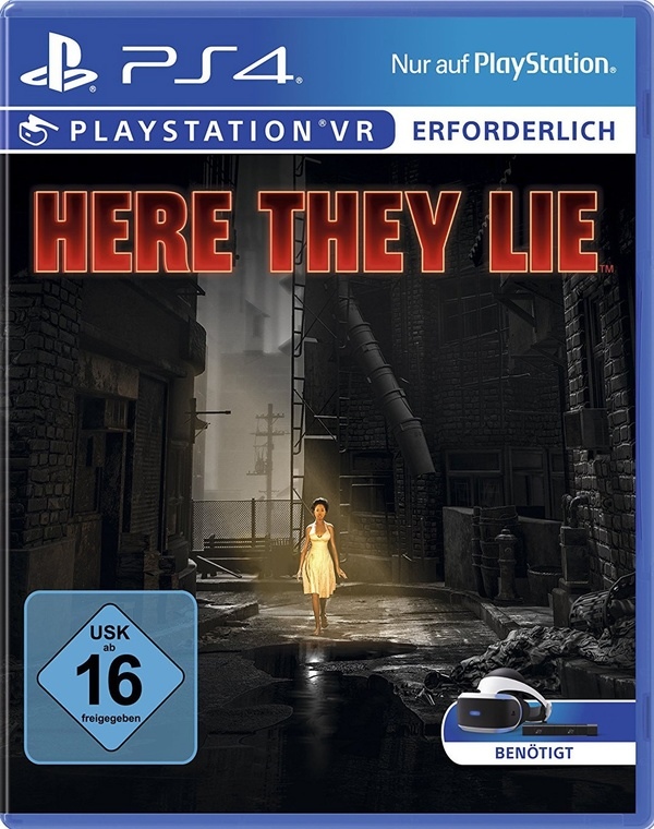 Cover zu Here They Lie