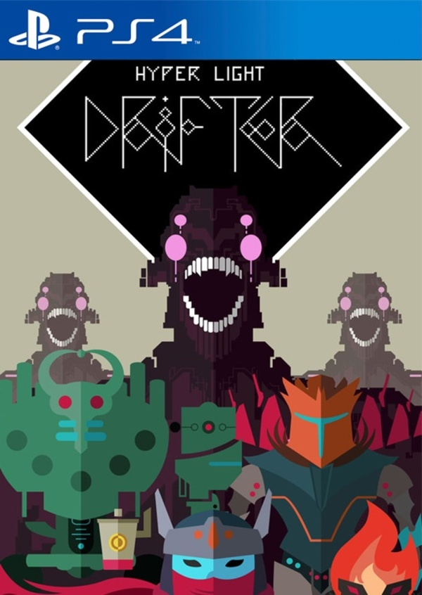 Cover zu Hyper Light Drifter