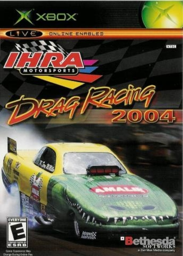 Cover zu IHRA Drag Racing 2004