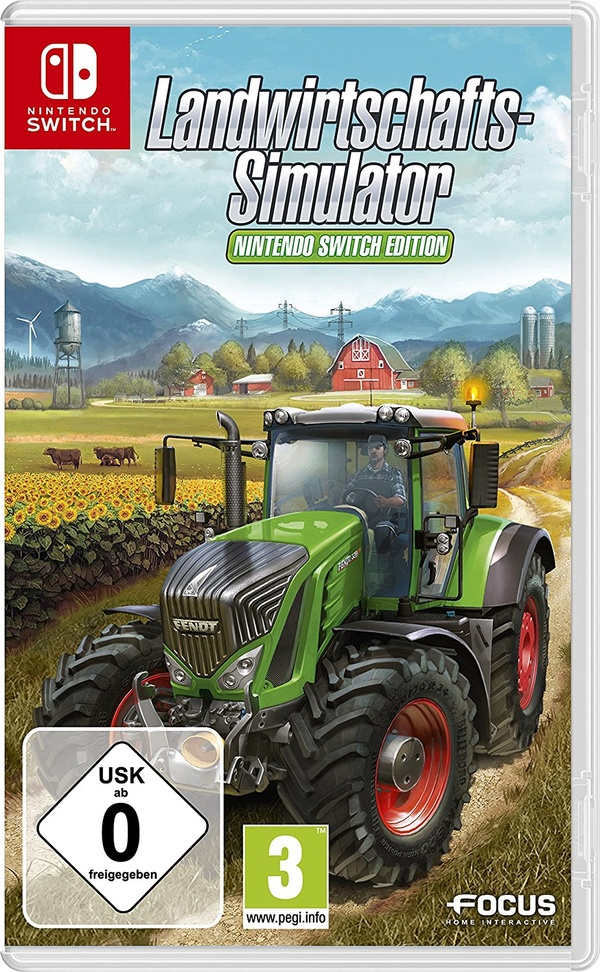 Cover zu Landwirtschafts-Simulator 17: Nintendo Switch Edition