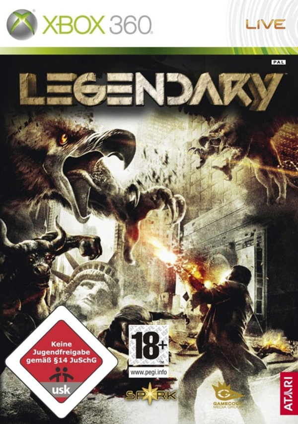 Cover zu Legendary: The Box