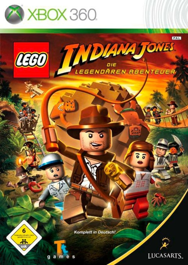Cover zu LEGO Indiana Jones: The Original Adventures
