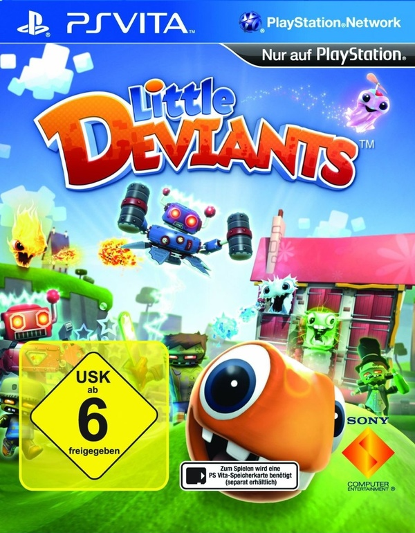Cover zu Little Deviants