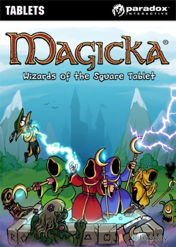 Cover zu Magicka: Wizards of the Square Tablet