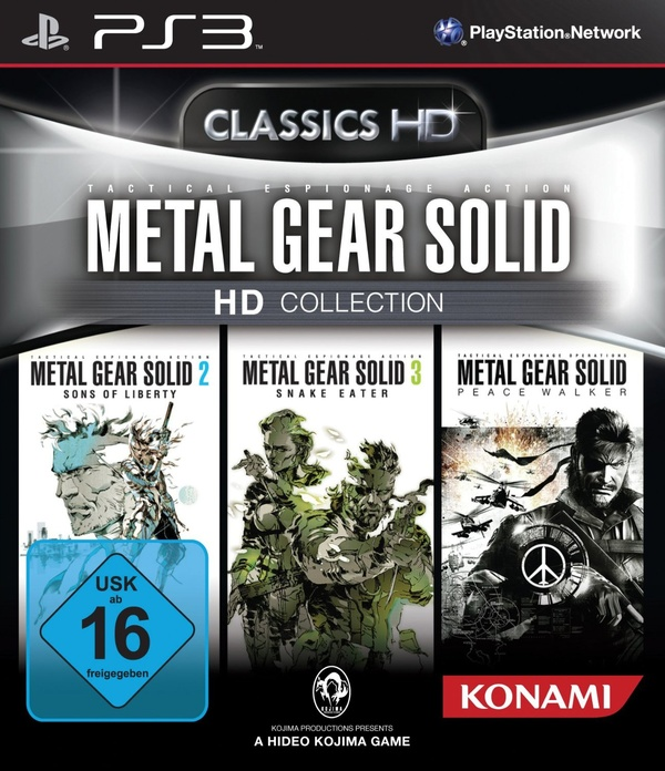 Cover zu Metal Gear Solid HD Collection