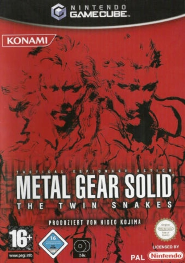 Cover zu Metal Gear Solid: The Twin Snakes