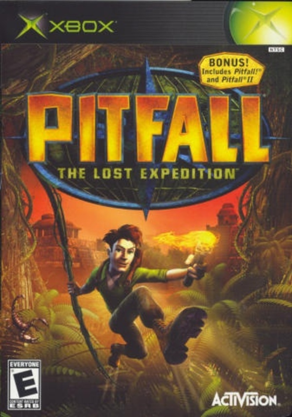 Cover zu Pitfall: The Lost Expedition