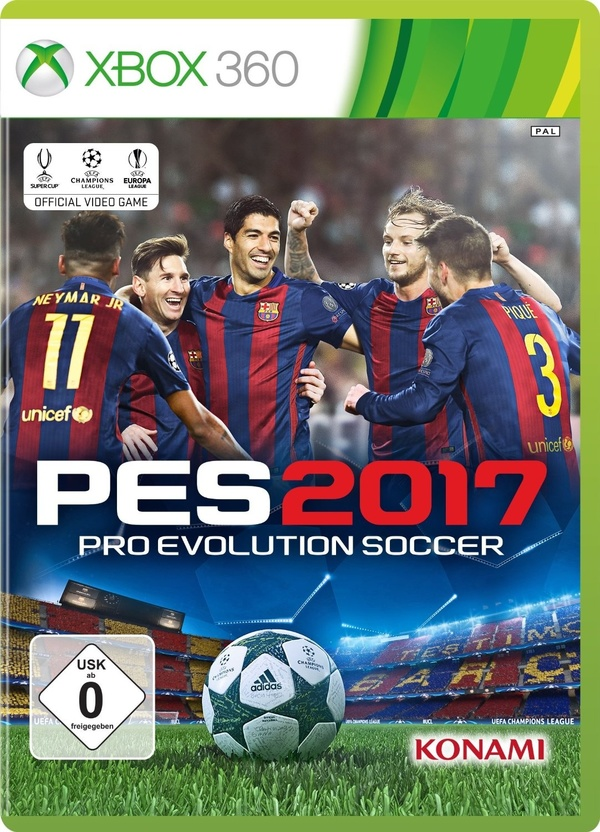 Cover zu Pro Evolution Soccer 2017