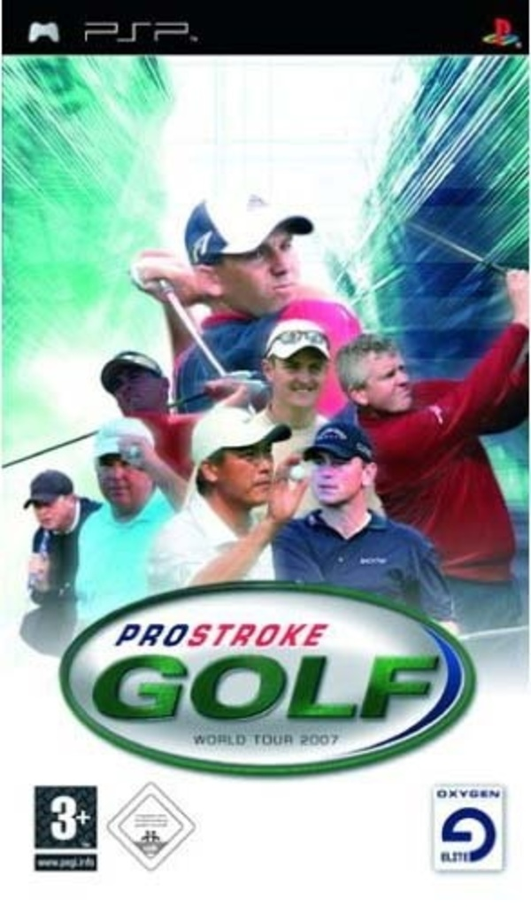 Cover zu ProStroke Golf: World Tour 2007