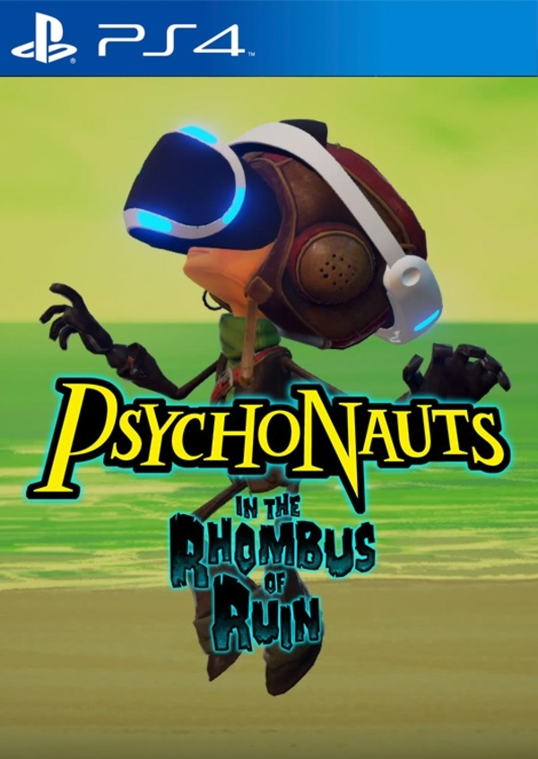 Cover zu Psychonauts in the Rhombus of Ruin