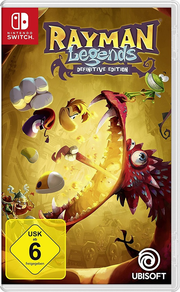 Cover zu Rayman Legends: Definitive Edition