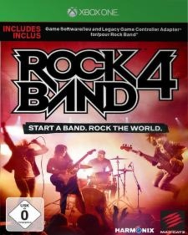 Cover zu Rock Band 4