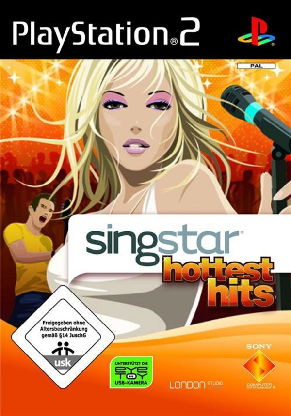 Cover zu SingStar: Hottest Hits