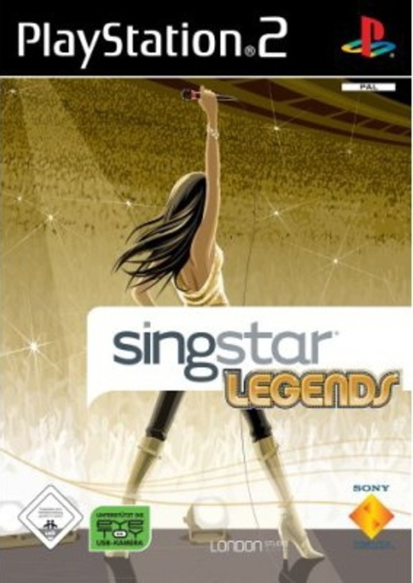 Cover zu SingStar Legends