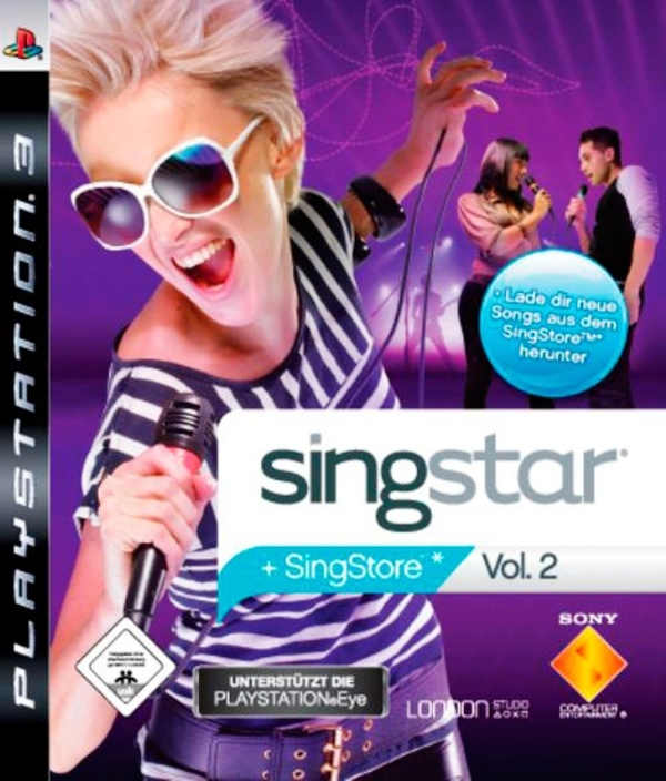 Cover zu SingStar Vol. 2