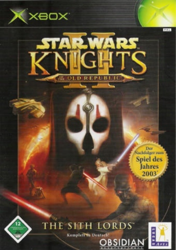 Cover zu Knights of The Old Republic II: The Sith Lords