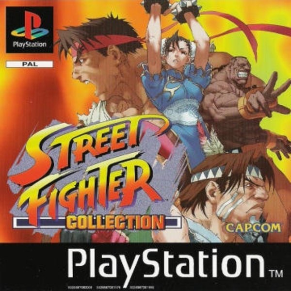 Cover zu Street Fighter Collection