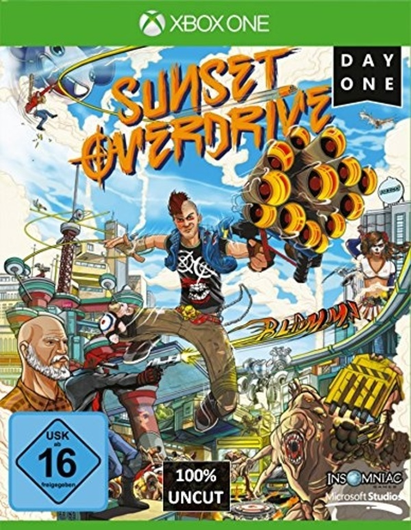 Cover zu Sunset Overdrive