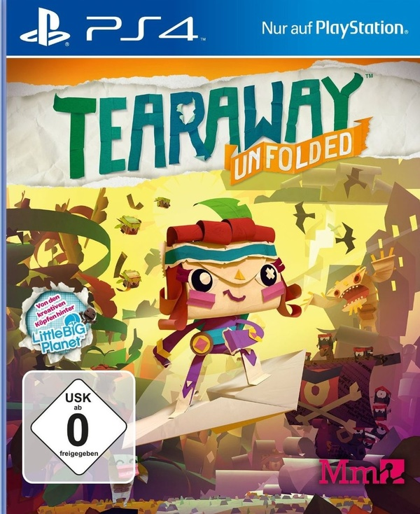 Cover zu Tearaway Unfolded