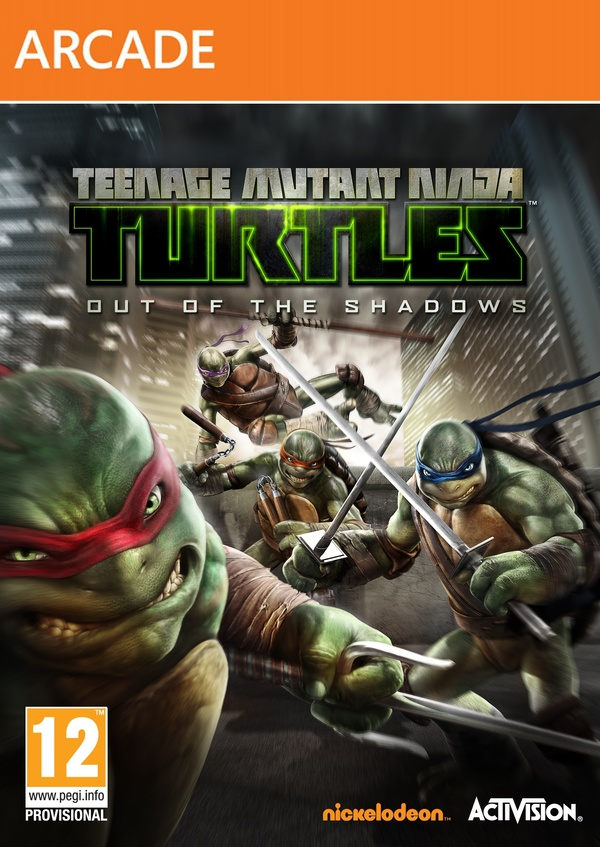 Cover zu Teenage Mutant Ninja Turtles: Out of the Shadows
