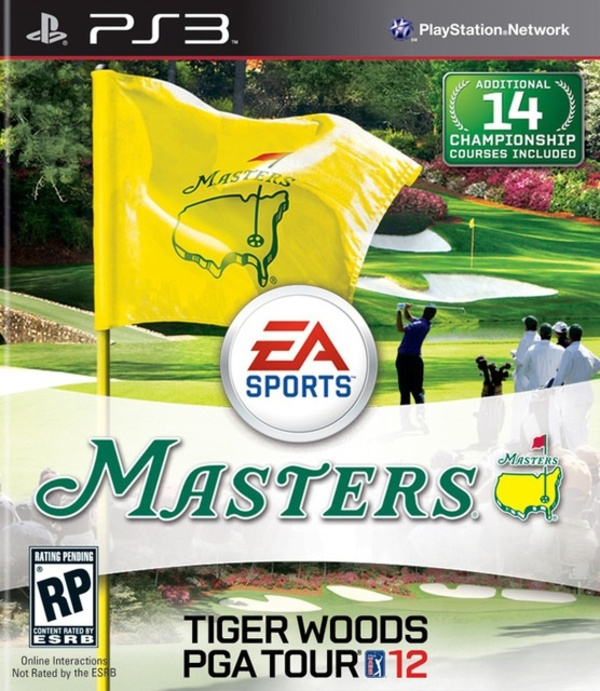 Cover zu Tiger Woods PGA Tour 12: The Masters