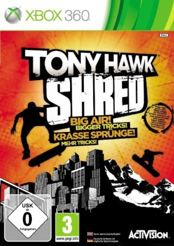 Cover zu Tony Hawk: Shred