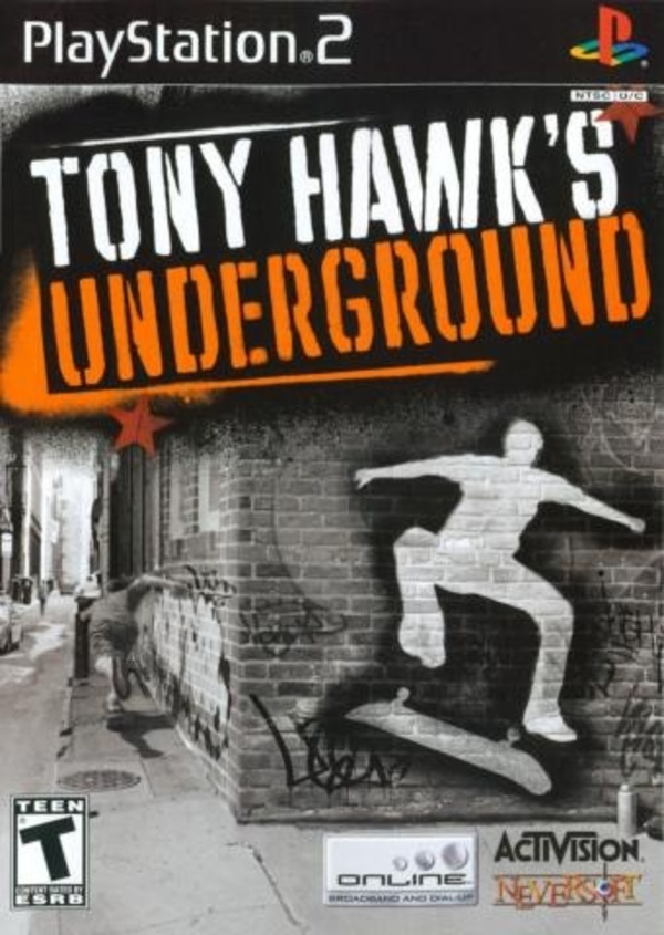 Cover zu Tony Hawk's Underground