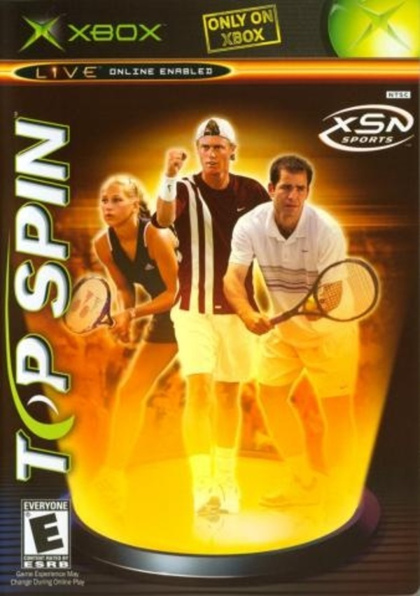 Cover zu Top Spin
