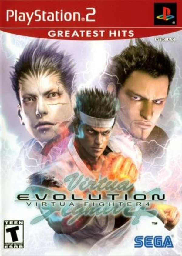 Cover zu Virtua Fighter 4: Evolution