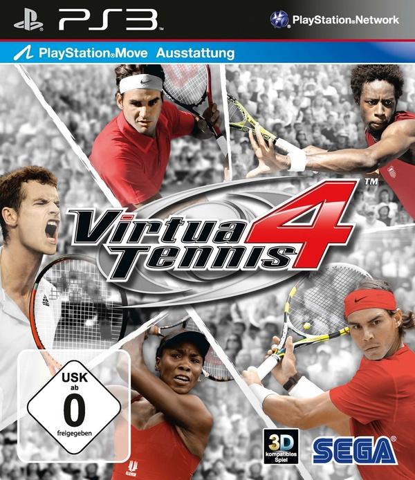 Cover zu Virtua Tennis 4