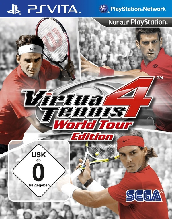 Cover zu Virtua Tennis 4: World Tour Edition