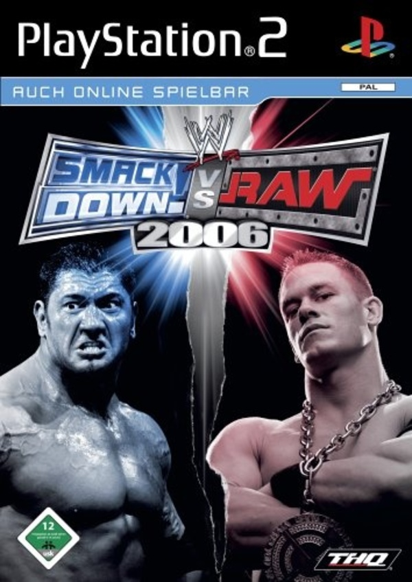 Cover zu WWE Smackdown! vs. Raw 2006