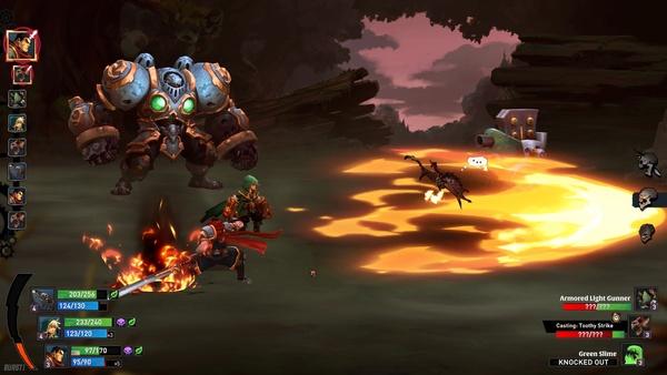 Screenshot zu Battle Chasers: Nightwar (PS4) - Screenshots