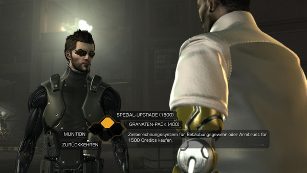 Screenshot zu Deus Ex: Human Revolution (Wii U) - Screenshots