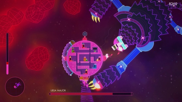 Screenshot zu Lovers in a Dangerous Spacetime (PS4) - Screenshots
