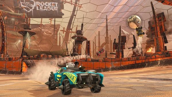 Screenshot zu Rocket League (Xbox One) - Screenshots zum DLC »Chaos Run«