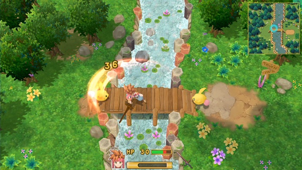 Screenshot zu Secret of Mana Remake (PS4) - Screenshots