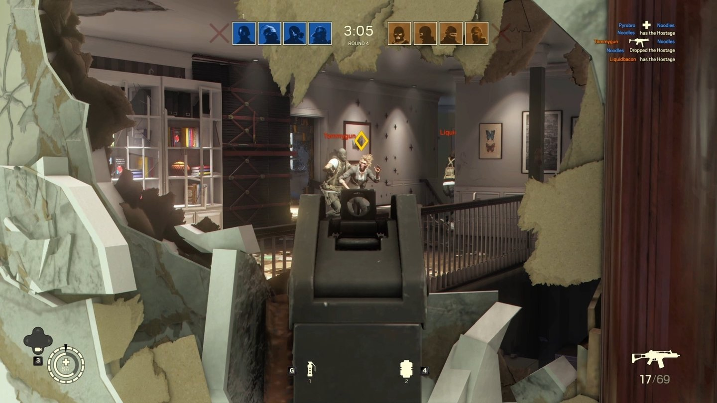 rainbow six siege das ende der patrioten gamepro. Black Bedroom Furniture Sets. Home Design Ideas