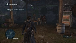 <b>Assassins Creed Rogue</b><br>Benjamin Franklin ist in Assassin's Creed: Rogue noch nur ein Wissenschaftler.