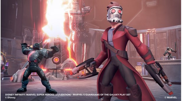 Disney Infinity 2.0: Marvel Super Heroes - Screenshots Guardians of the Galaxy