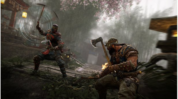 <b>For Honor</b><br>Screenshots vom Shinobi und Zenturio