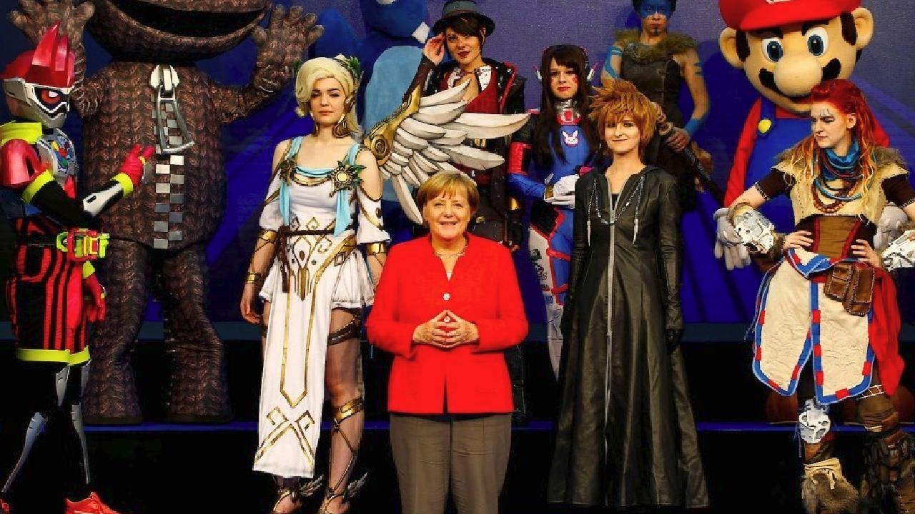 Merkel bemängelt schlechte Grafik bei Minecraft