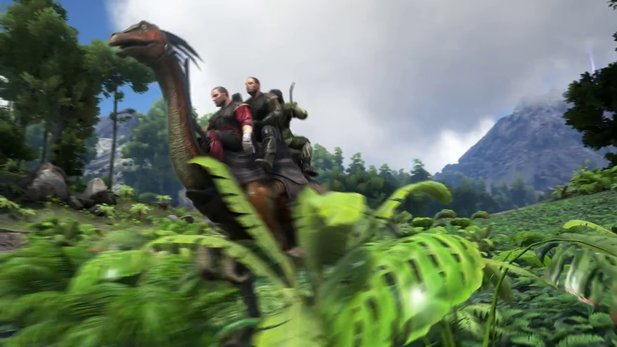 Ark: Survival Evolved - Gameplay-Trailer zeigt den neue Dino Galliminus