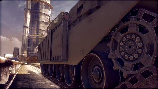 Armored Warfare - Wüstenkarte »Pipelines« im Trailer