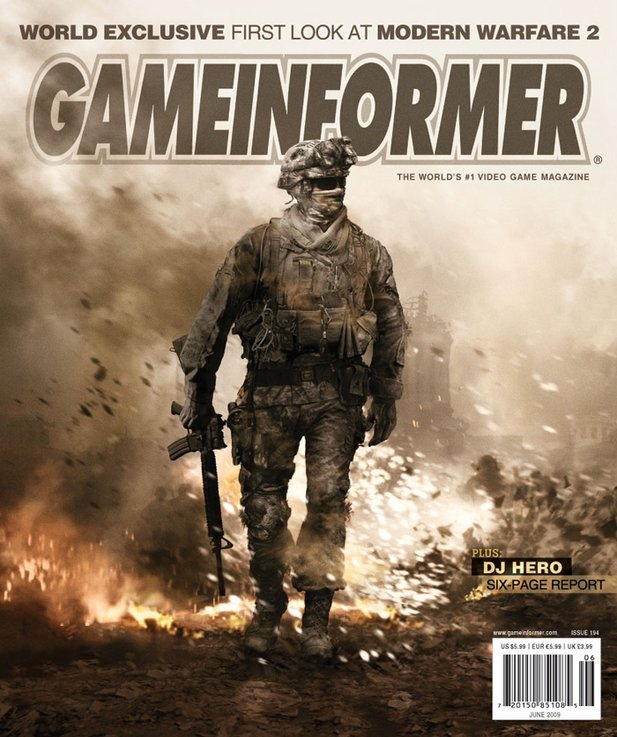 Cover des US-Magazins Game Informer.