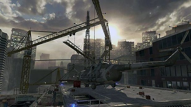 Die Map Highrise aus Call of Duty: Modern Warfare 2.