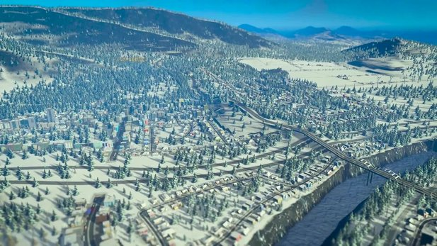 Cities: Skylines - Launch-Trailer zur Erweiterung Snowfall
