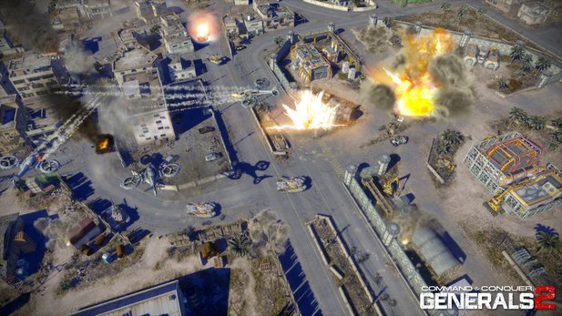 Screenshots aus Command & Conquer: Generals 2