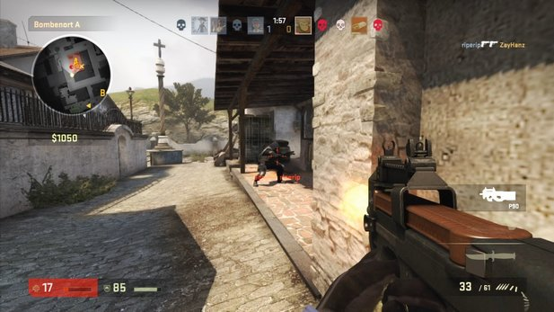 Ein neuer Patch für Counter-Strike: Global Offensive ist da.